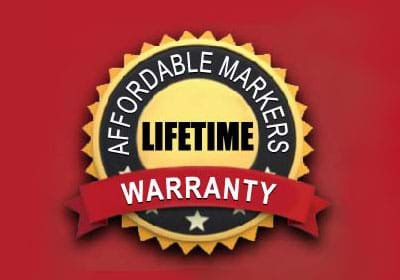 Lifetime Warranty.